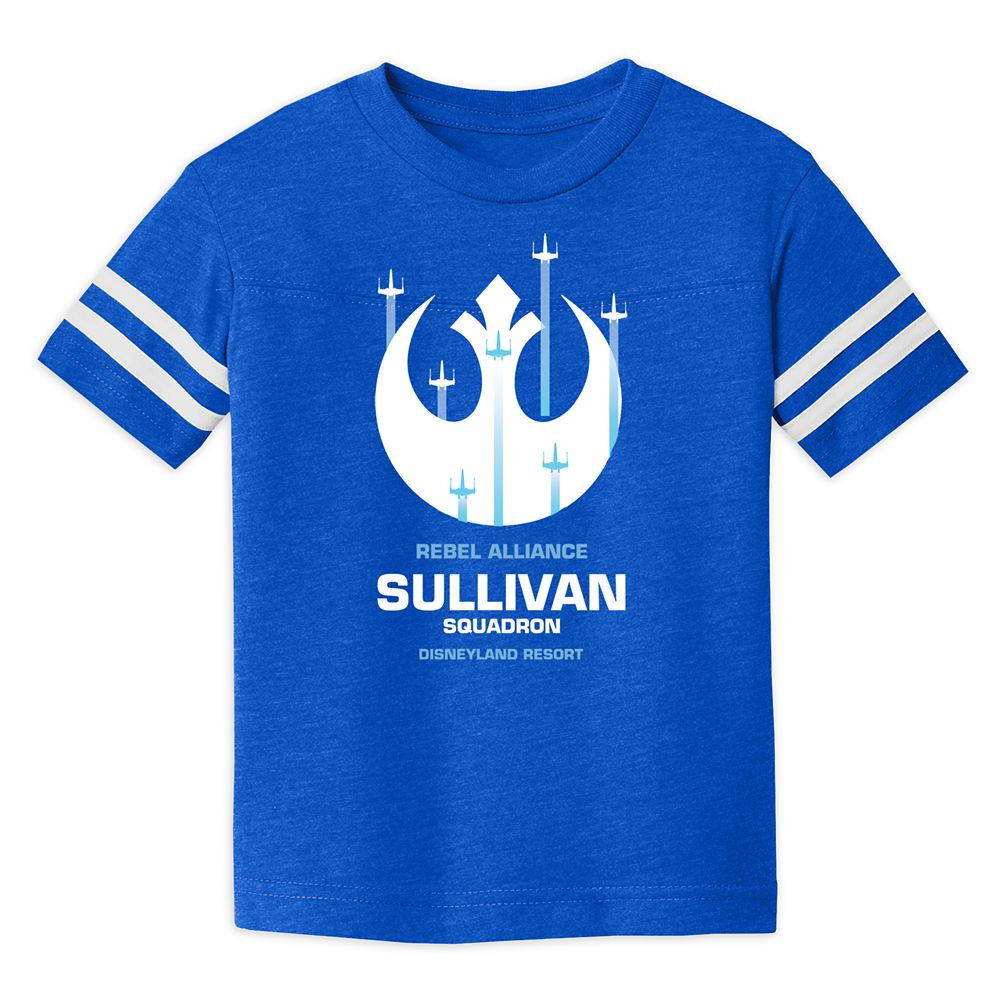 Toddlers' Star Wars Squadron Football T-Shirt – Disneyland – Customized