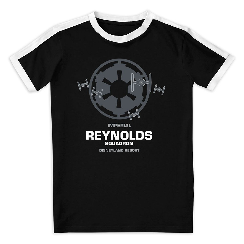 Youths' Star Wars Imperial Squadron Soccer T-Shirt  Disneyland  Customized