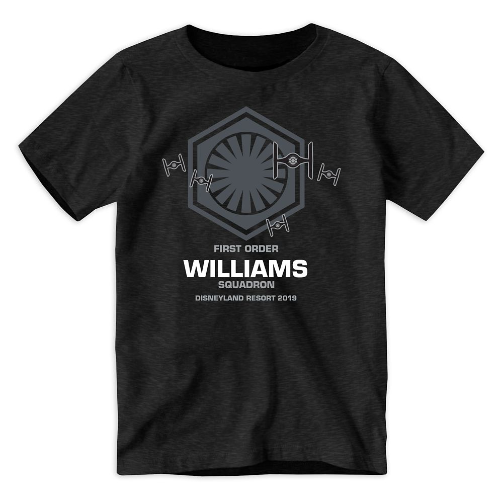 Youths' Star Wars First Order Squadron T-Shirt  Disneyland  Customized