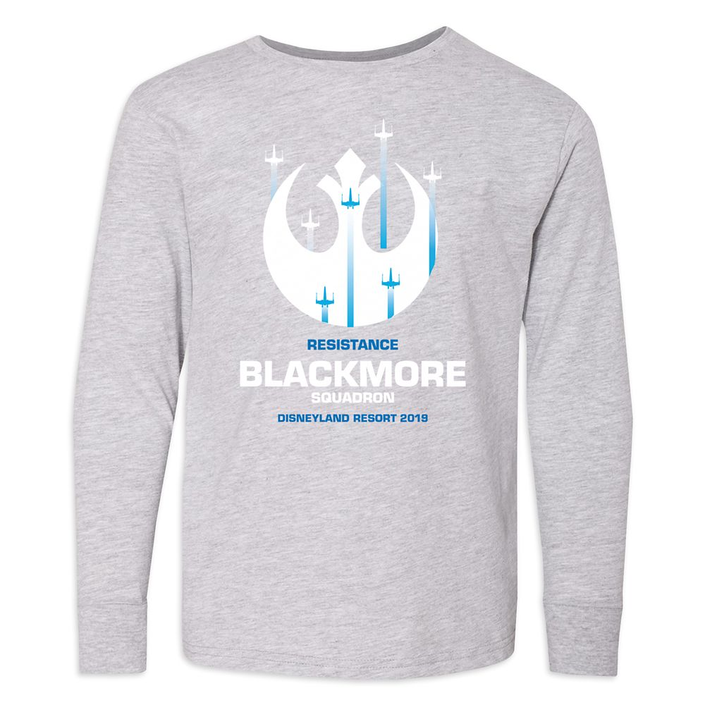 Youths' Star Wars Resistance Squadron Long Sleeve T-Shirt  Disneyland  Customized