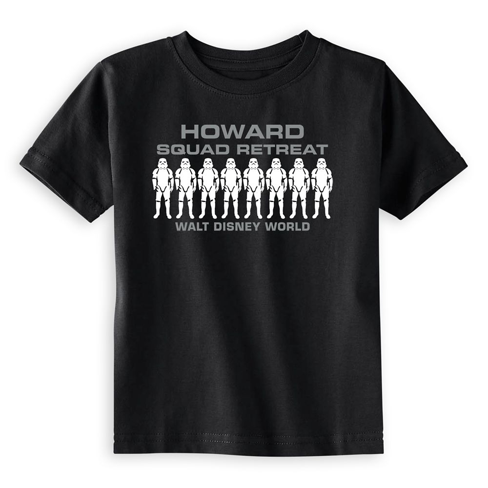 Toddlers' Star Wars Squad Retreat T-Shirt  Walt Disney World  Customized