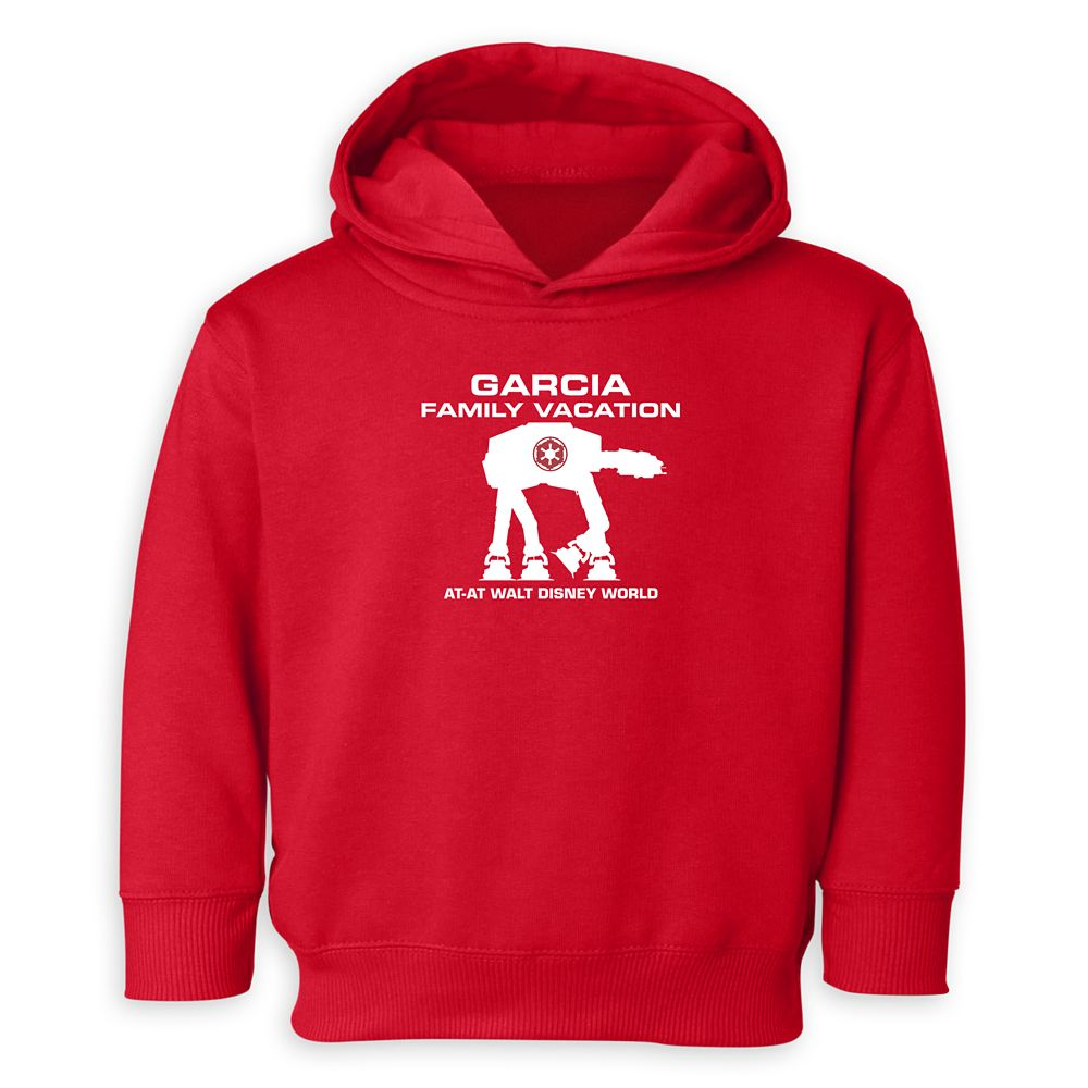 Toddlers' Star Wars AT-AT Family Vacation Pullover Hoodie  Walt Disney World  Customized
