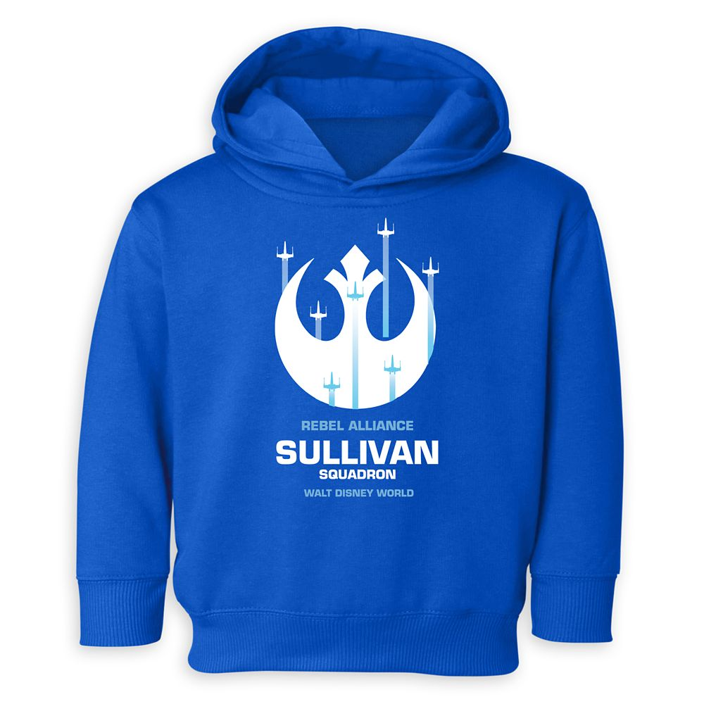 Toddlers' Star Wars Squadron Pullover Hoodie – Walt Disney World – Customized