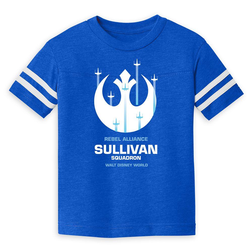 Toddlers' Star Wars Squadron Football T-Shirt – Walt Disney World – Customized
