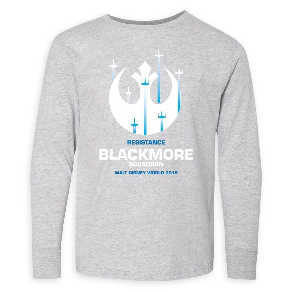 Youths' Star Wars Resistance Squadron Long Sleeve T-Shirt – Walt Disney World – Customized