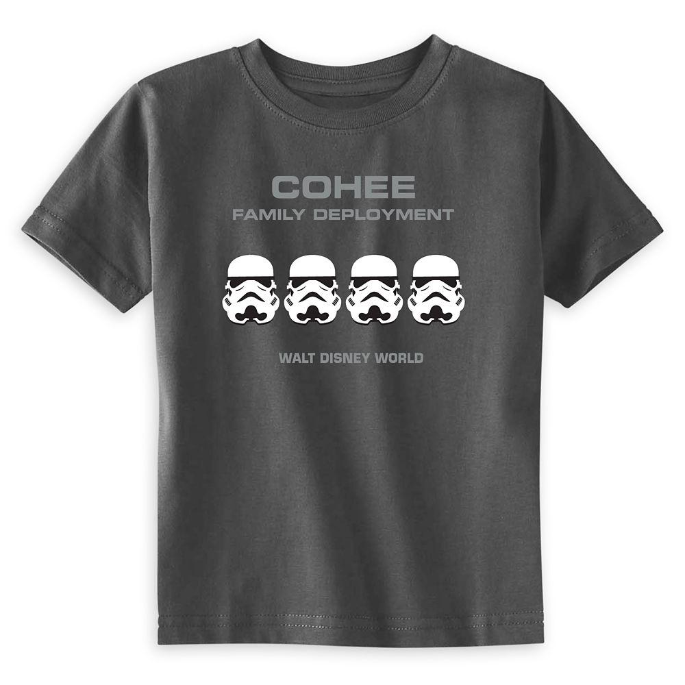 Toddlers' Star Wars Stormtrooper Family Deployment T-Shirt – Walt Disney World – Customized