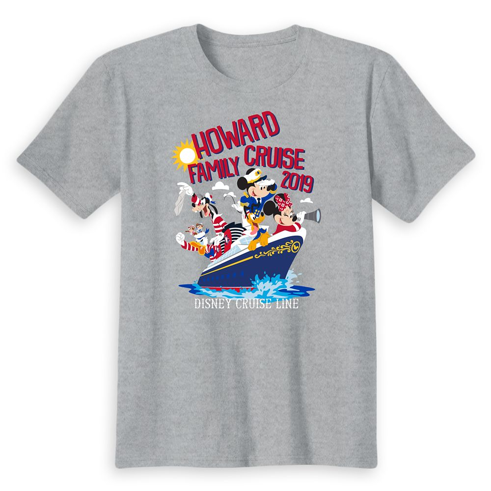 Kids' Disney Cruise Line Family Cruise 2019 T-Shirt – Customized