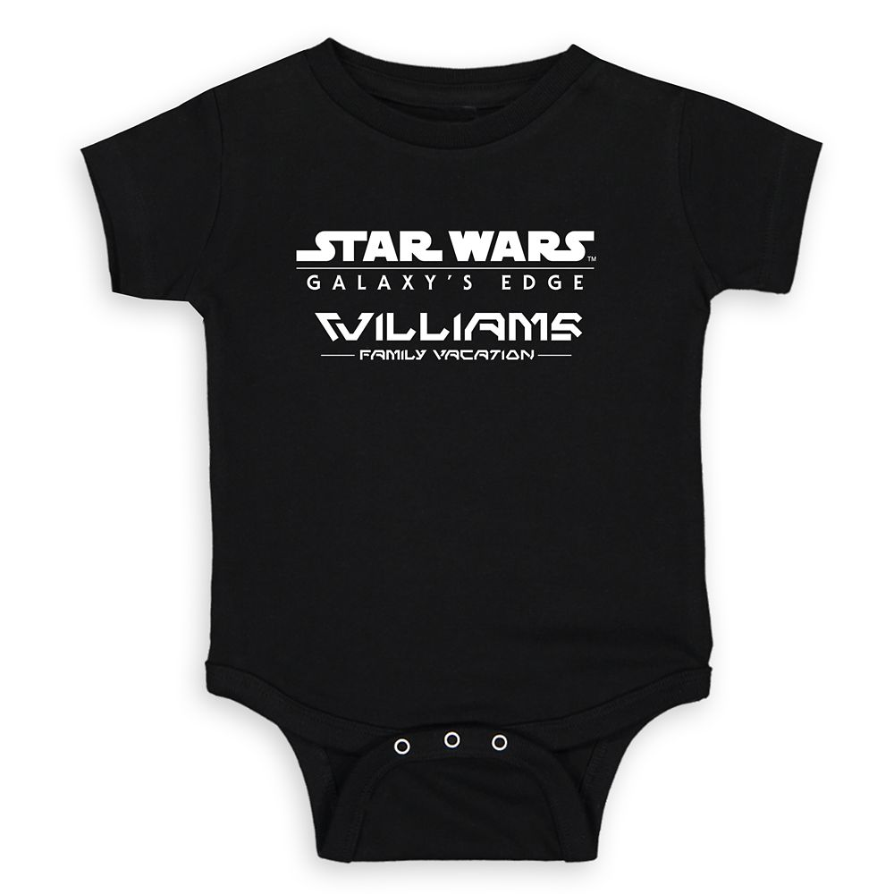 Baby Star Wars: Galaxy's Edge Bodysuit – Customized