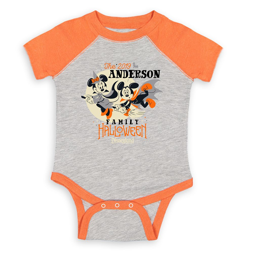 Infants' Disneyland Halloween Baseball Bodysuit – Customized
