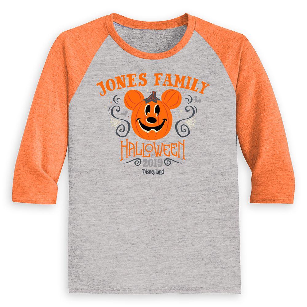 Toddlers' Disneyland Halloween Baseball T-Shirt – Customized