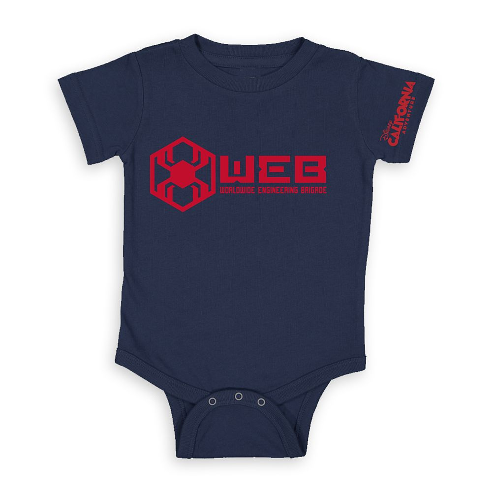 W.E.B. Worldwide Engineering Brigade Bodysuit for Baby – Disney California Adventure