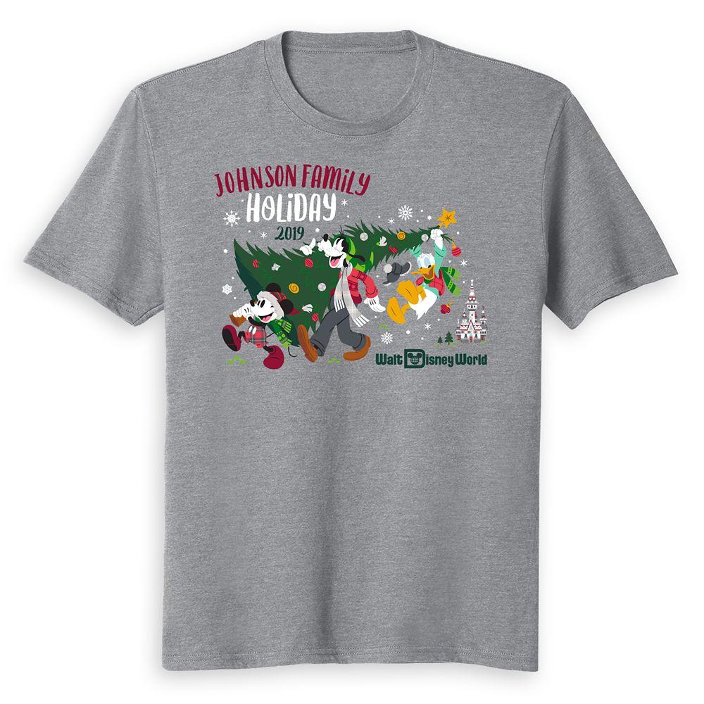 Kids' Walt Disney World Holiday 2019 Mickey & Friends T-Shirt – Customized