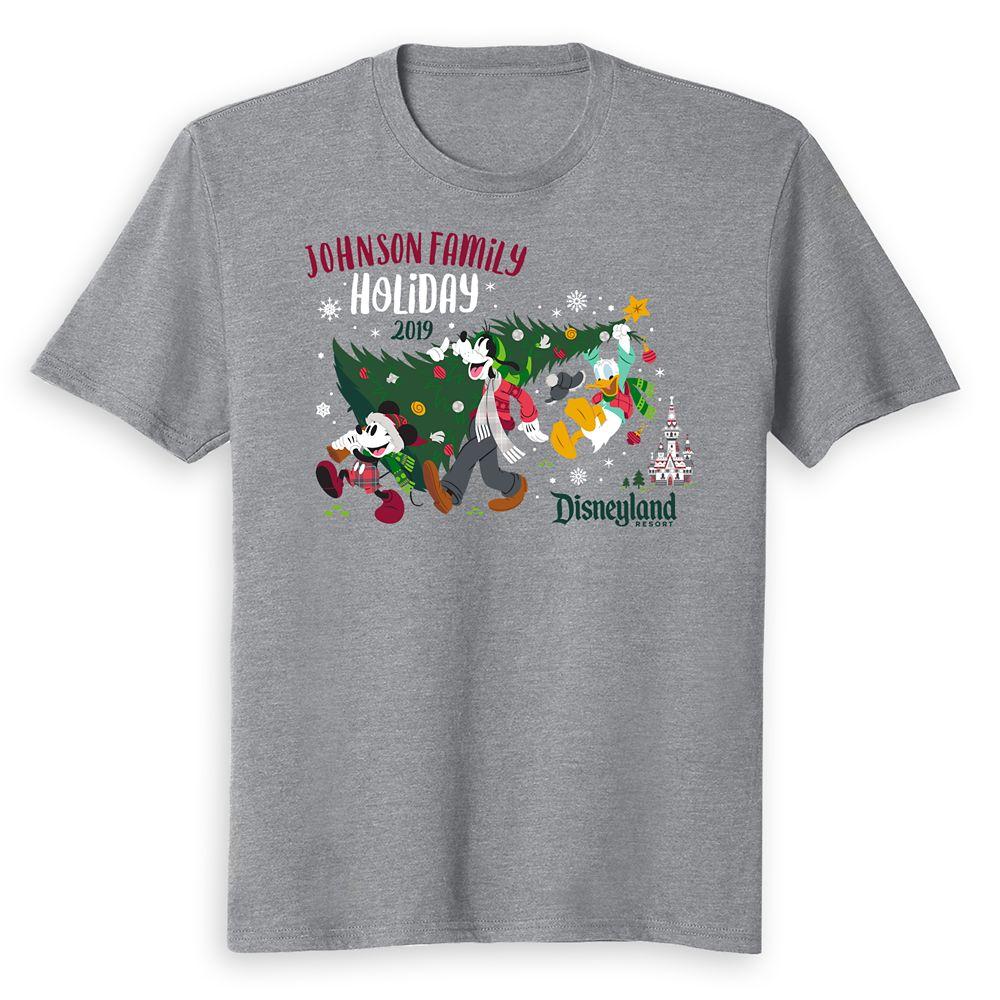 Kids' Disneyland Holiday 2019 Mickey & Friends T-Shirt – Customized