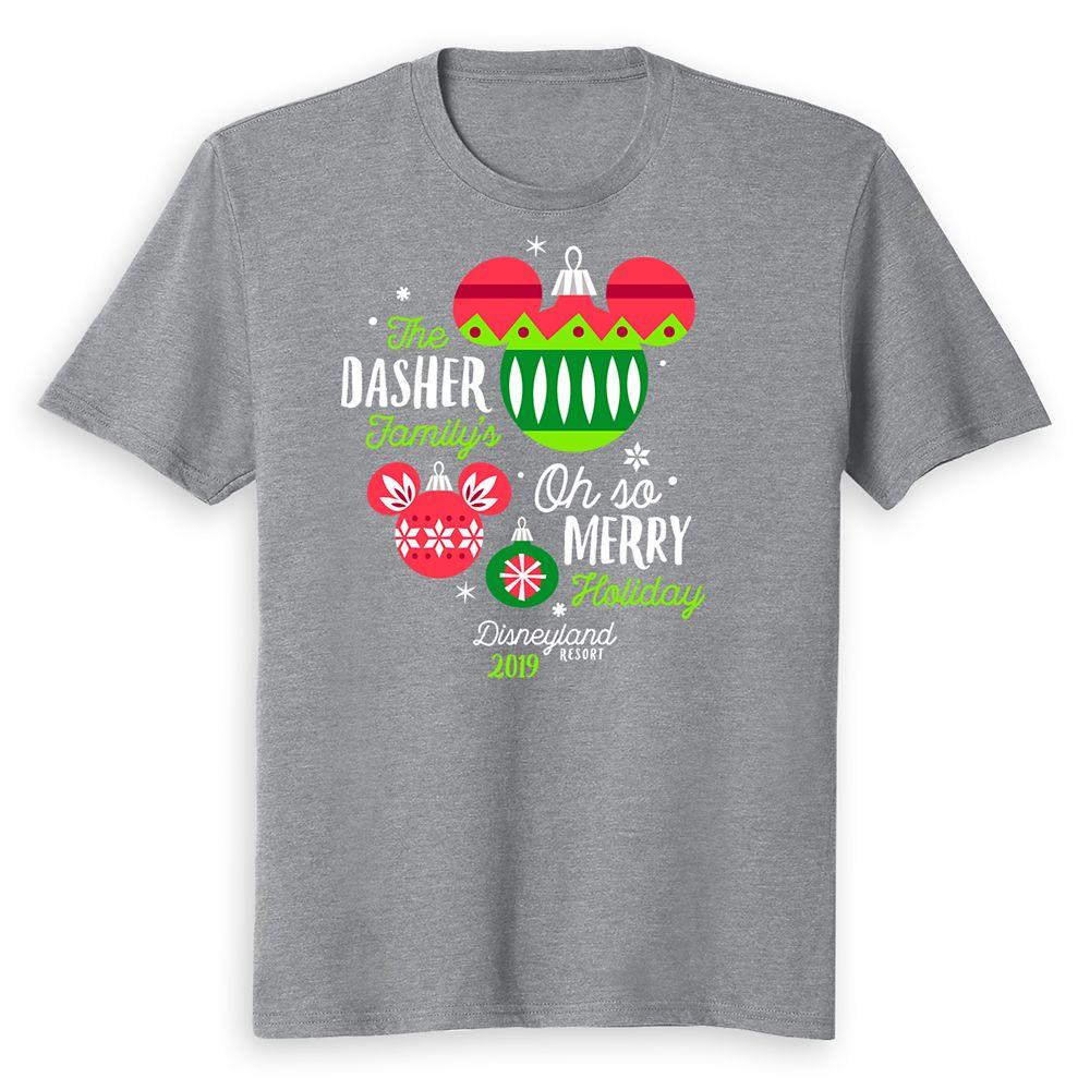 Kids' Disneyland Oh So Merry Holiday 2019 T-Shirt – Customized