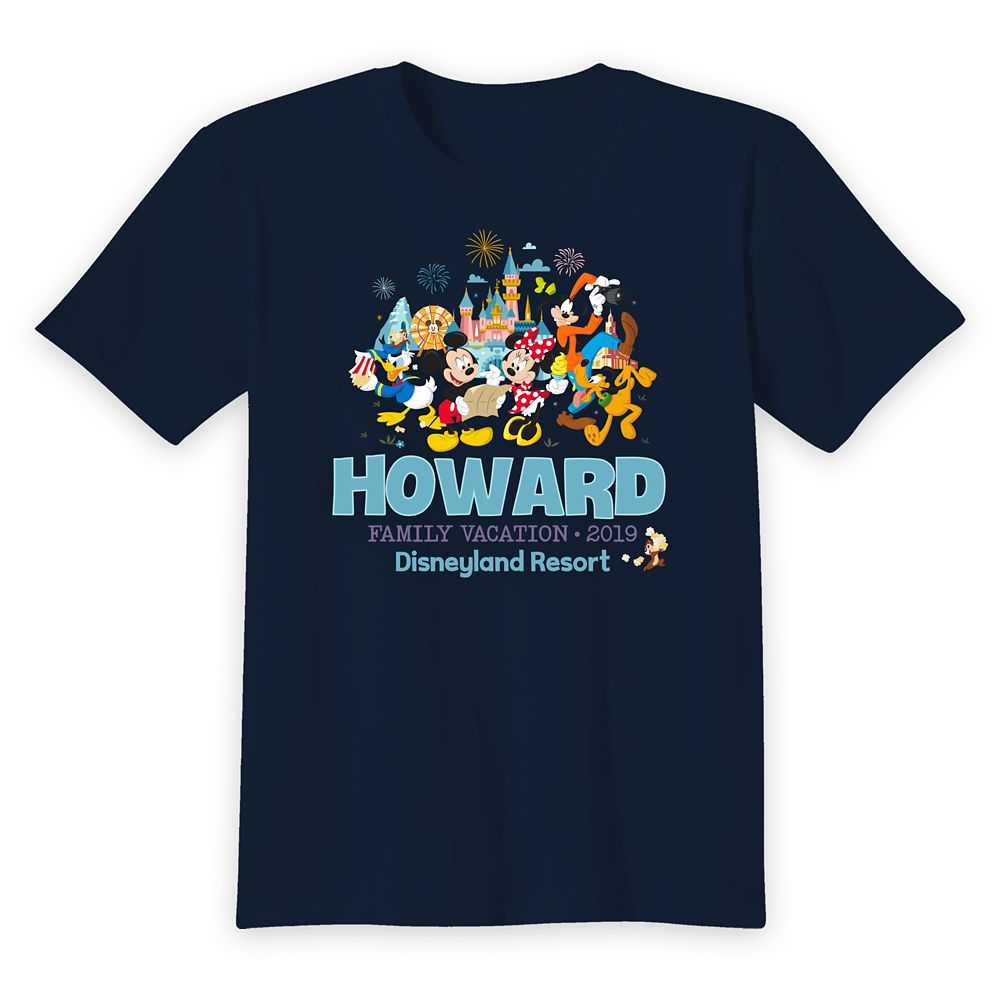 Kids' Disneyland Mickey Mouse and Friends Family Vacation T-Shirt – Customized