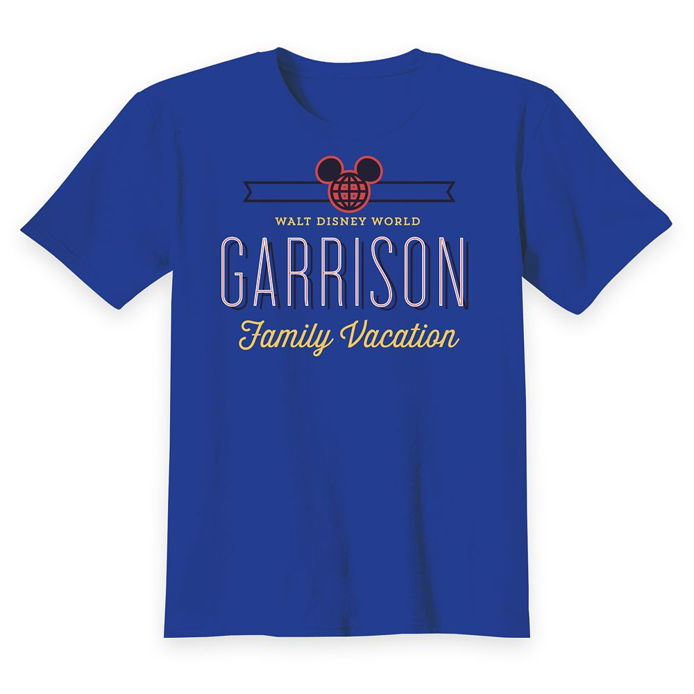 Kids' Walt Disney World Family Vacation T-Shirt - Customized