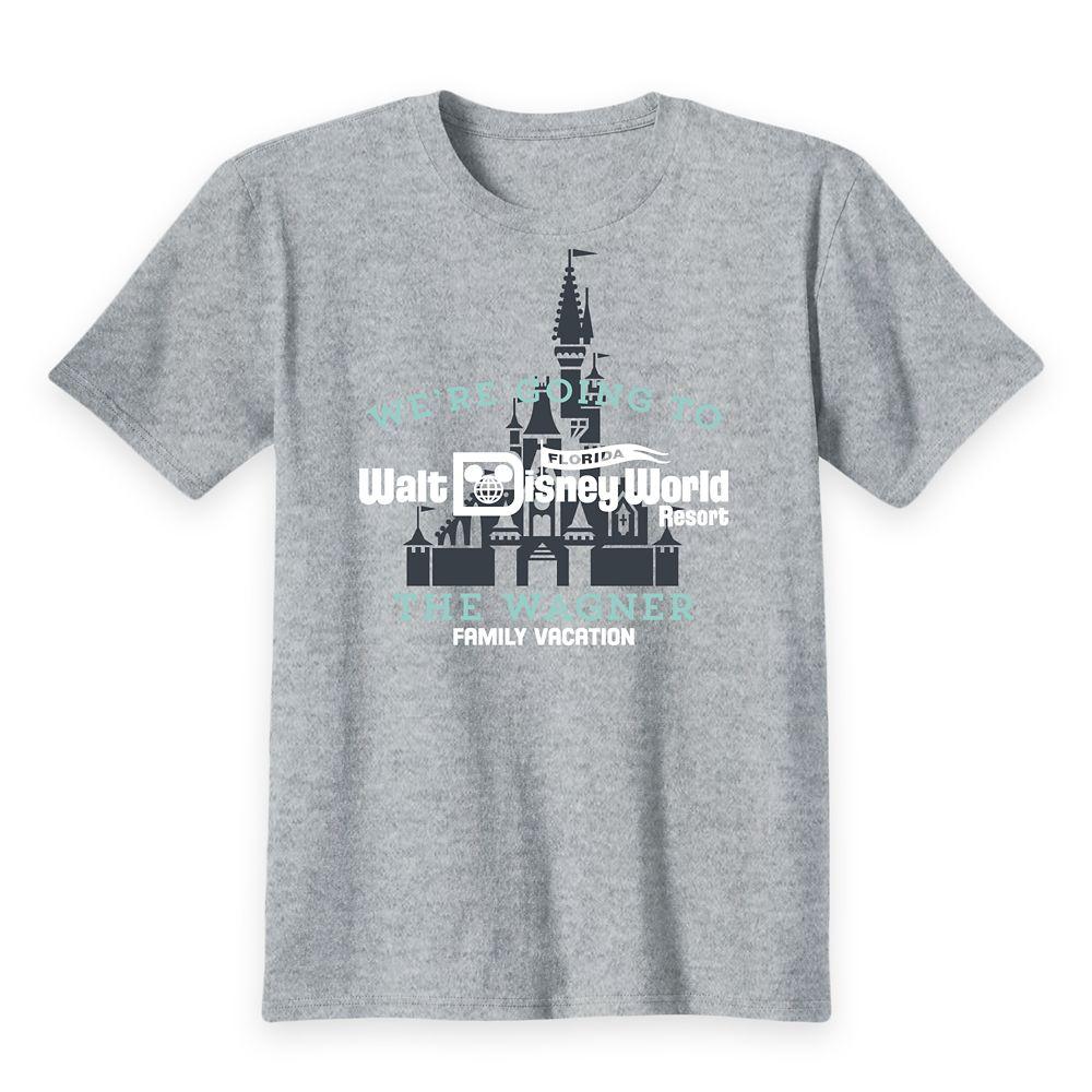 Kids' Walt Disney World Resort Family Vacation T-Shirt – Customized