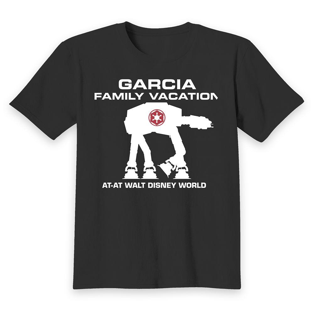 Kids' Walt Disney World Star Wars AT-AT T-Shirt – Customized