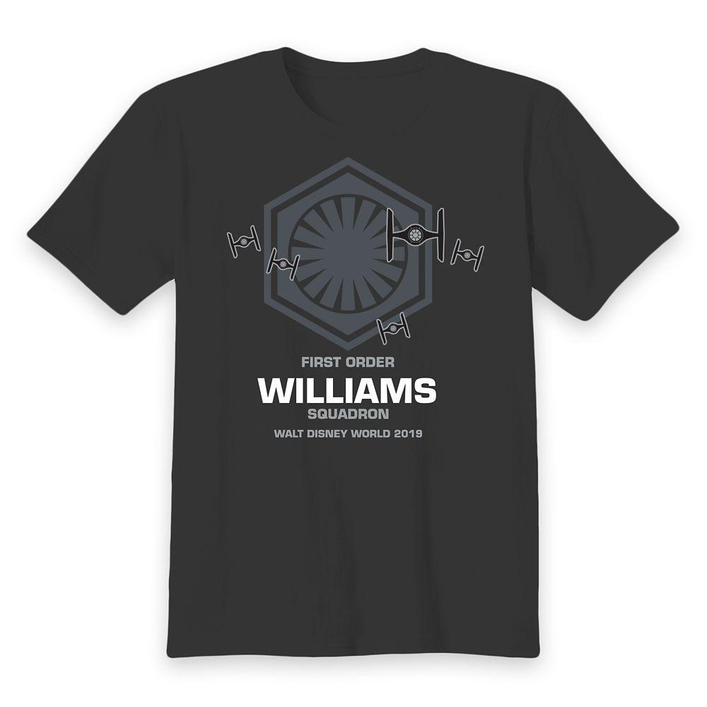 Kids' Walt Disney World Star Wars First Order Squadron T-Shirt – Customized