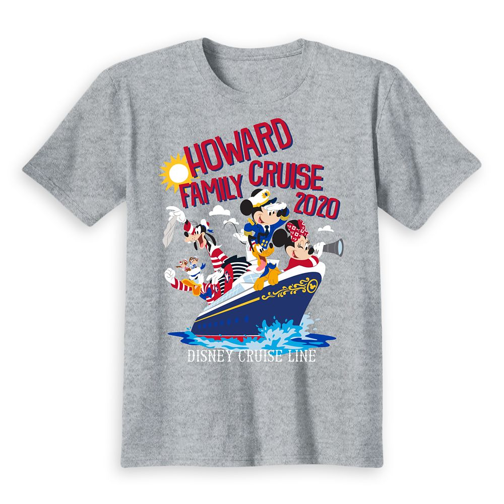 Kids' Disney Cruise Line Mickey Mouse and Friends Family Cruise 2020 T-Shirt – Customized
