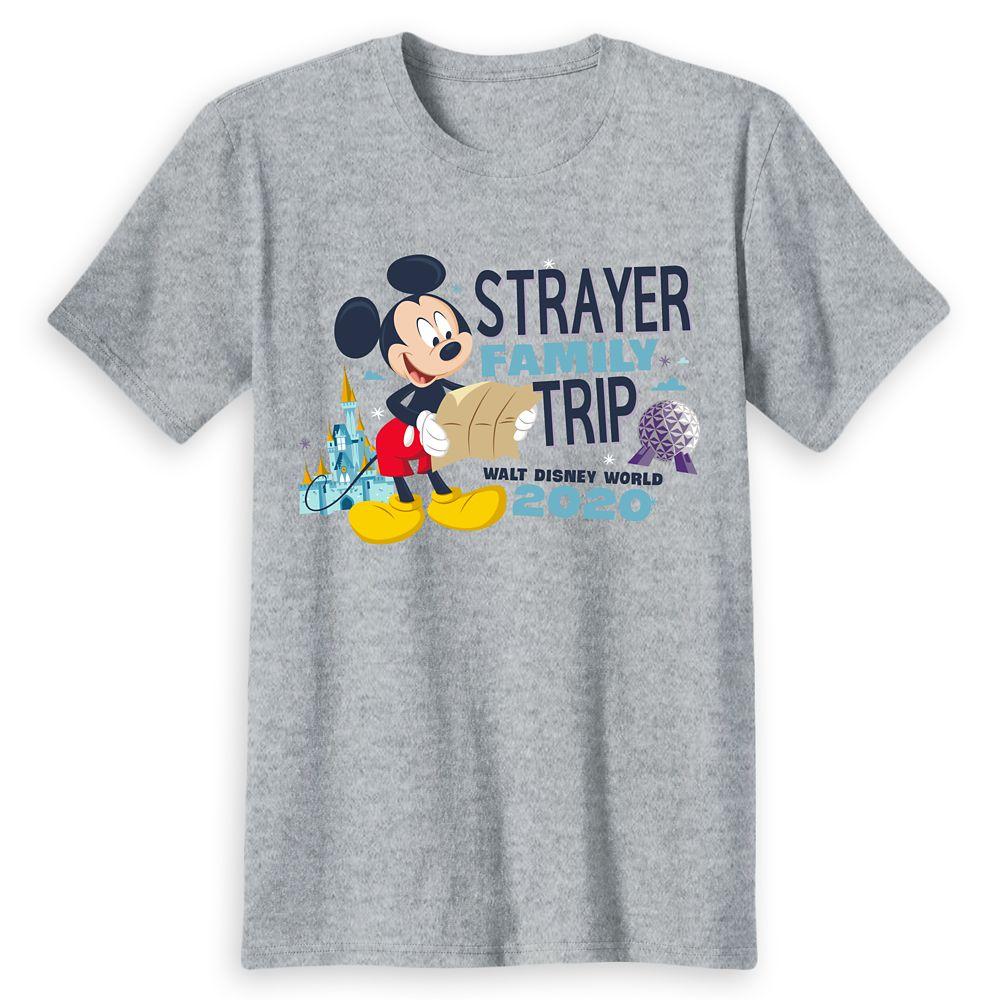 Kids' Walt Disney World Resort 2020 Mickey Mouse Family Trip T-Shirt – Customized
