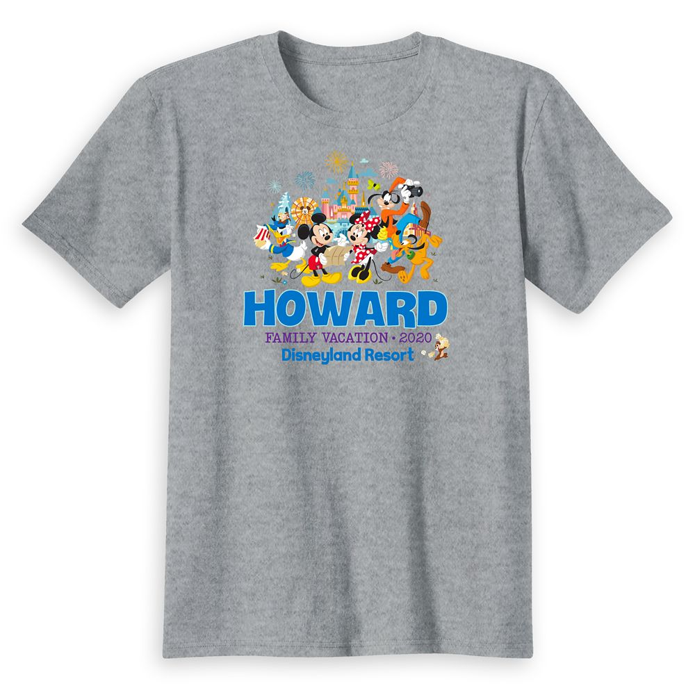 Kids' Disneyland Mickey Mouse and Friends Family Vacation 2020 T-Shirt – Customized