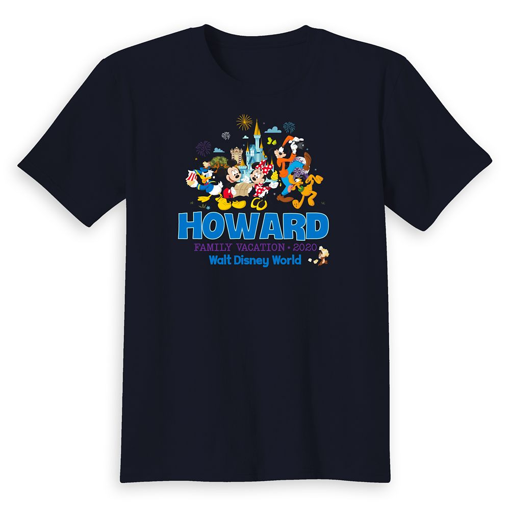 Kids' Walt Disney World Mickey Mouse and Friends Family Vacation 2020 T-Shirt – Customized