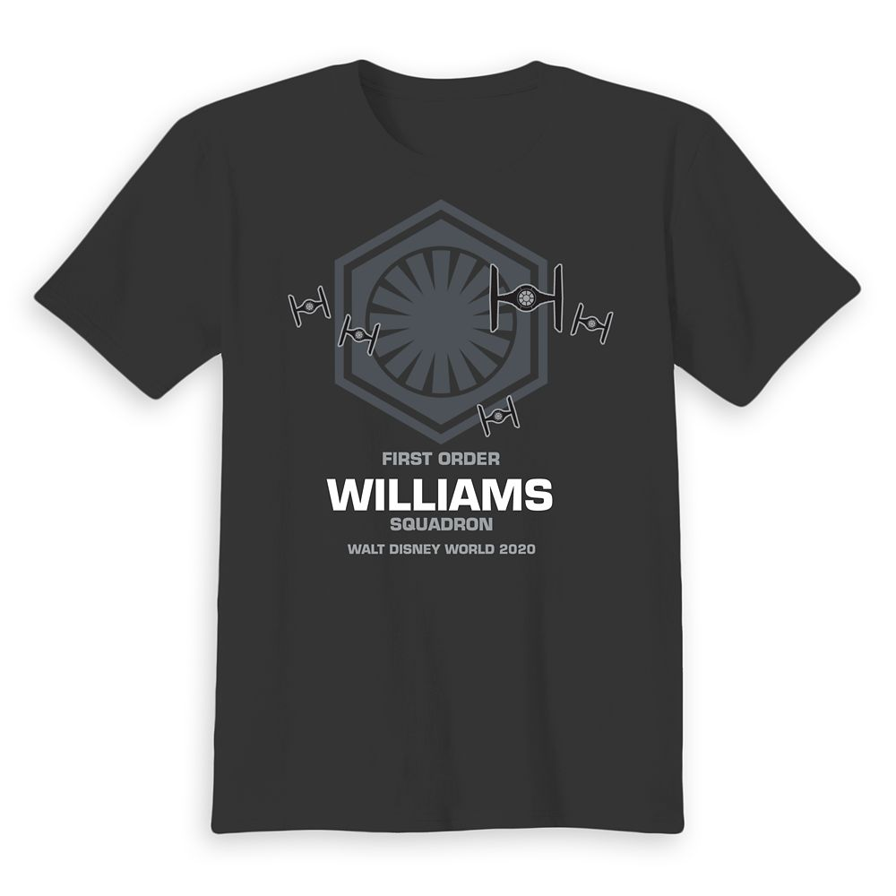 Kids' Walt Disney World 2020 Star Wars First Order Squadron T-Shirt – Customized