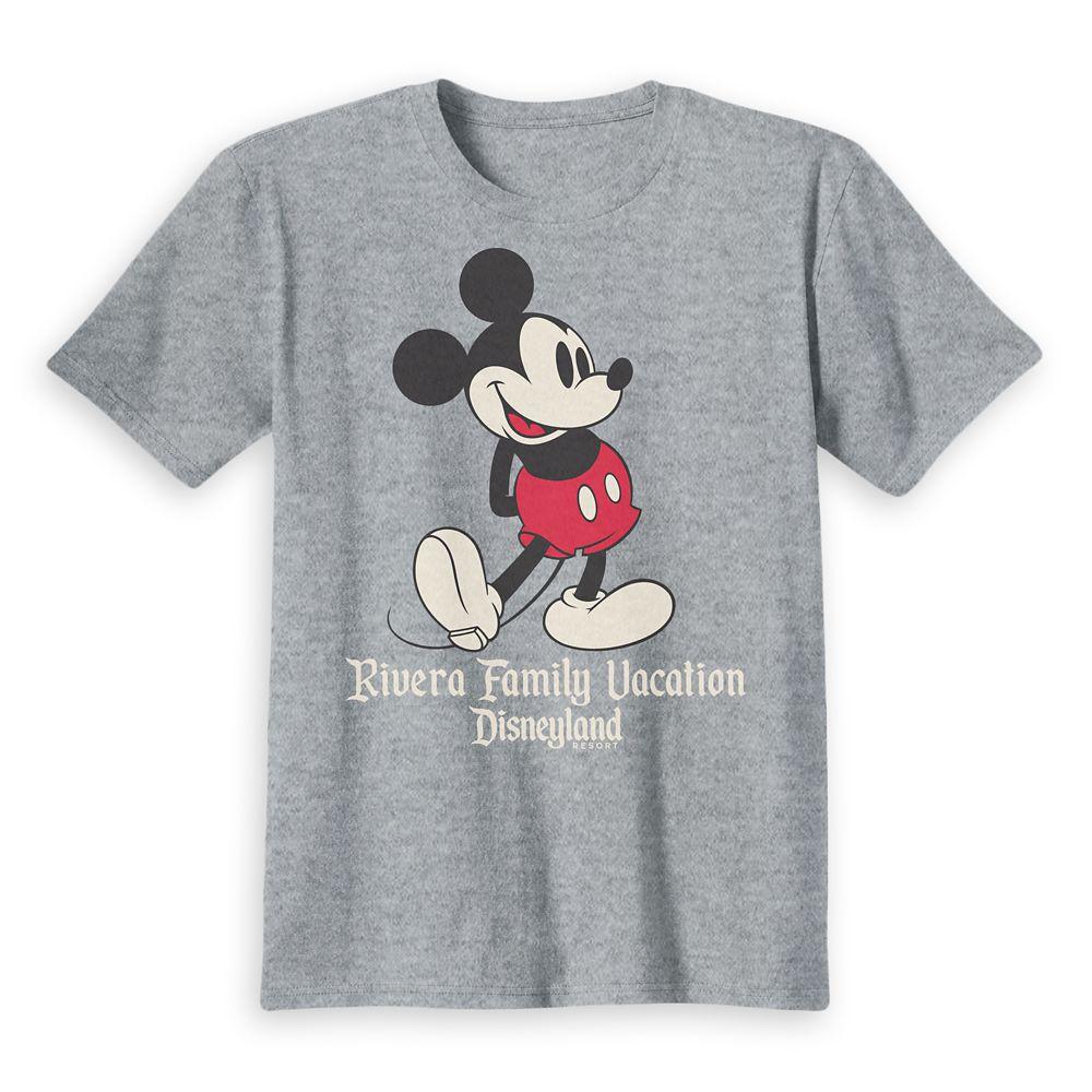 Kids' Disneyland Mickey Mouse Family Vacation T-Shirt – Customized