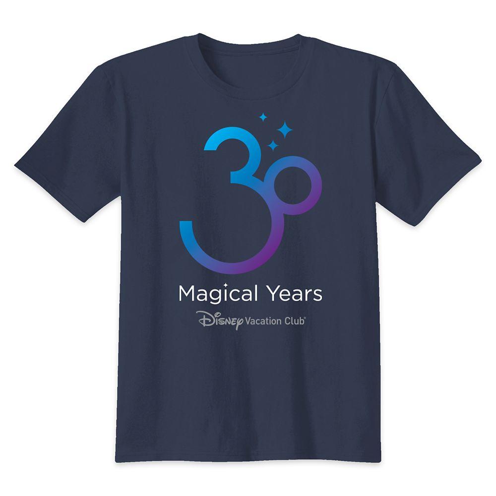 Disney Vacation Club 30th Anniversary T-Shirt for Kids