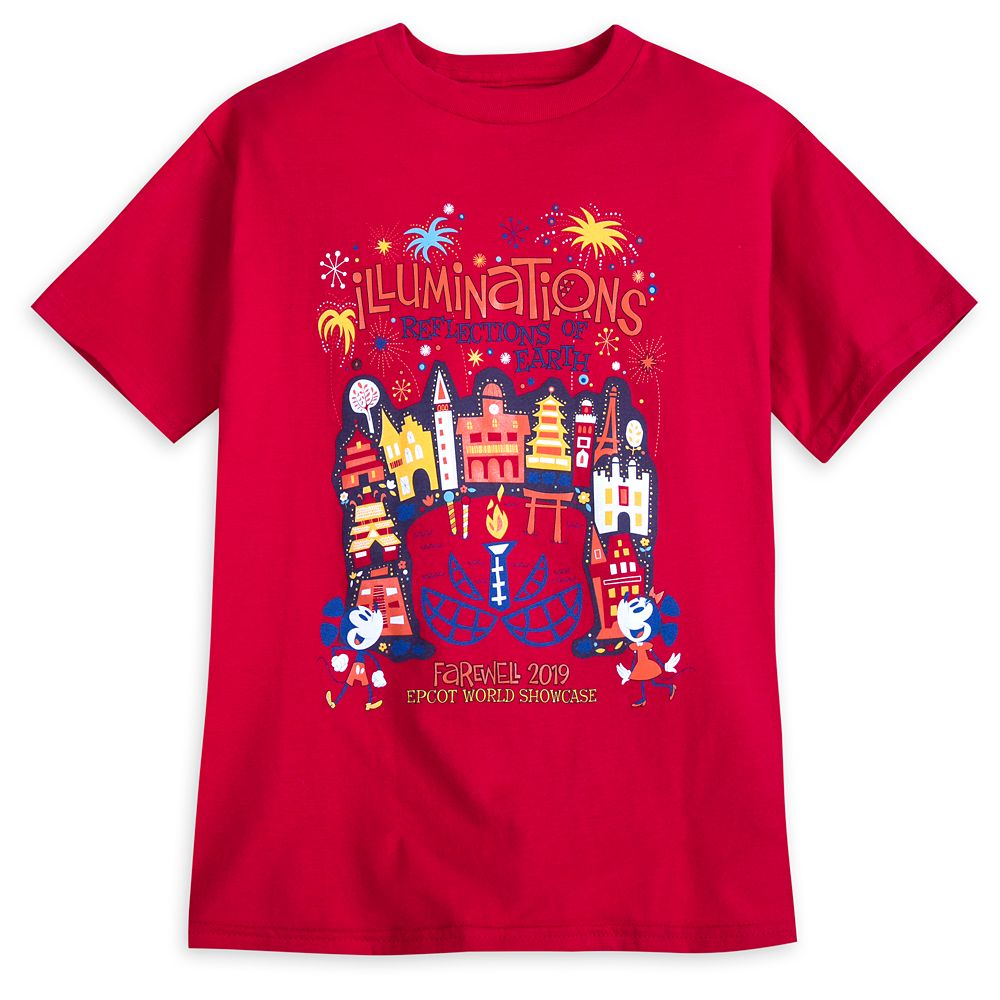 IllumiNations: Reflections of Earth Farewell T-Shirt for Kids