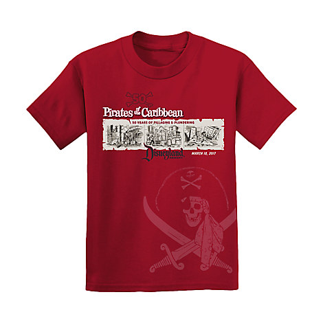Pirates of the Caribbean for Kids - 50th Anniversary Disneyland - Limited Release