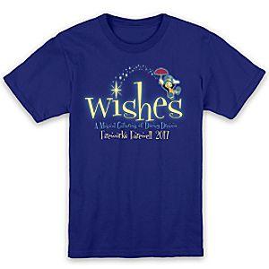 Jiminy Cricket ''Wishes'' Tee for Kids - Walt Disney World - Limited Release