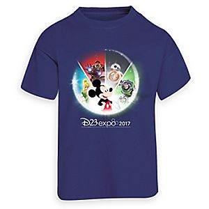 D23 Expo 2017 Pre-Arrival Tee for Kids - Limited Release