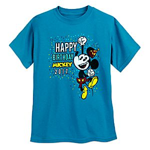 Mickey Mouse ''Happy Birthday, Mickey'' T-Shirt for Kids - Limited Release