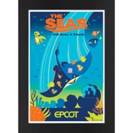 EPCOT The Seas with Nemo & Friends Matted Print