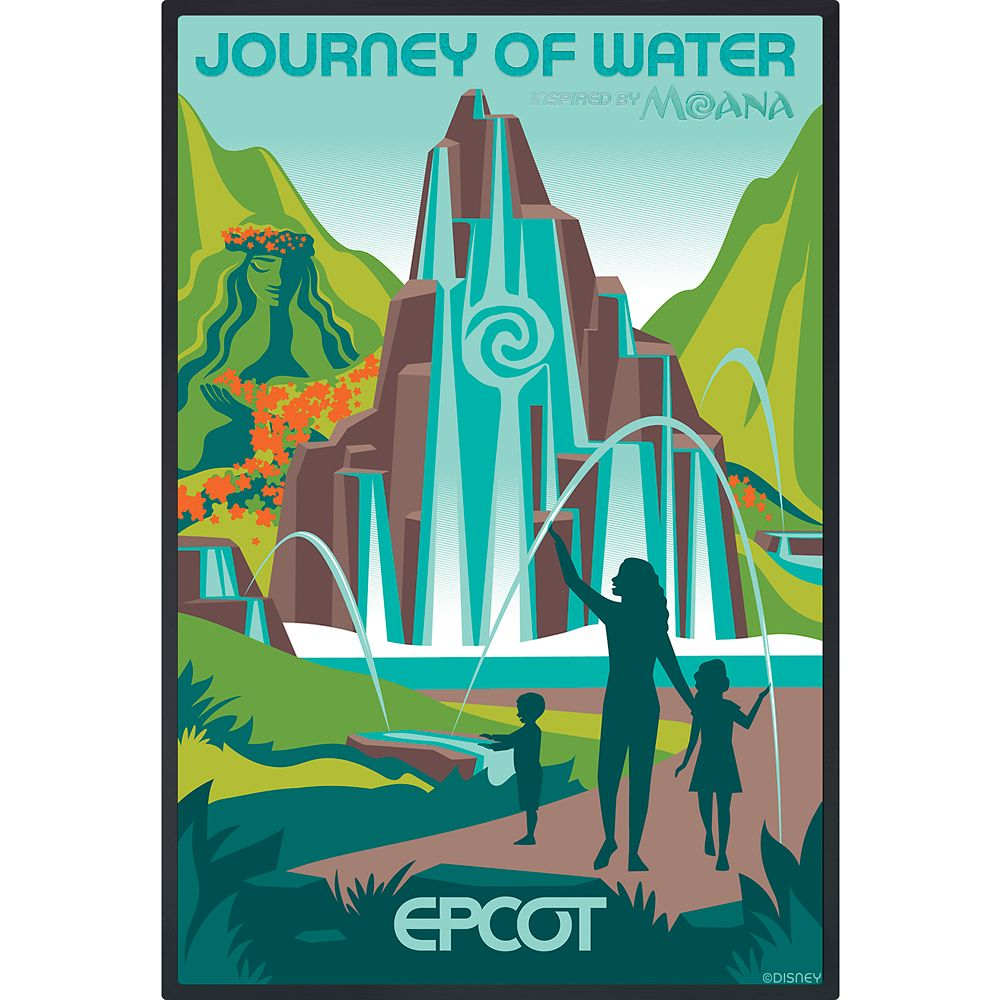 EPCOT Journey of Water Poster – Limited Release