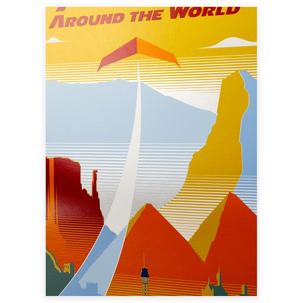 EPCOT Soarin' Around the World Poster – Limited Release