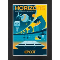 EPCOT: Horizons Matted Print