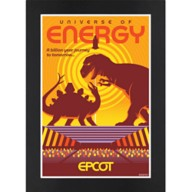 EPCOT Universe of Energy Matted Print