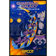 EPCOT Guardians of the Galaxy Cosmic Rewind Poster – Limited Release
