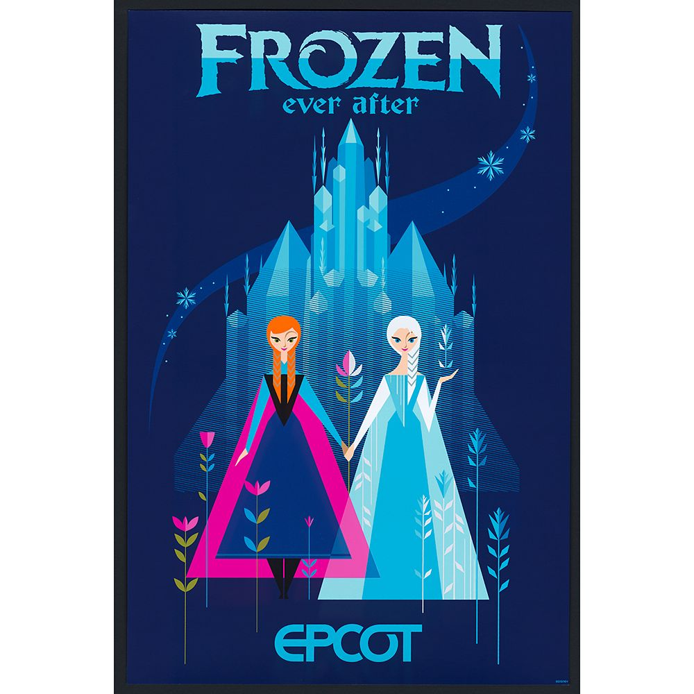 EPCOT Frozen Ever After Poster – Limited Release