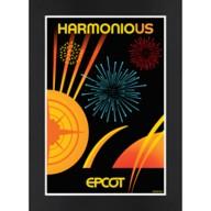 EPCOT Harmonious Matted Print