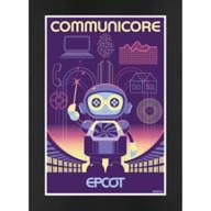 EPCOT CommuniCore Matted Print