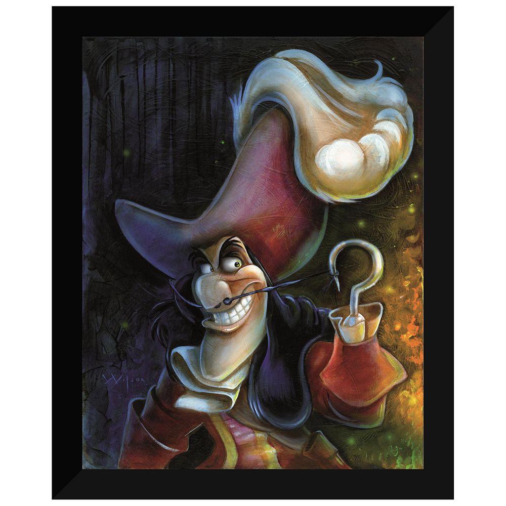 ''Captain Hook'' Giclée by Darren Wilson