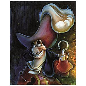 ''Captain Hook'' Giclée by Darren Wilson