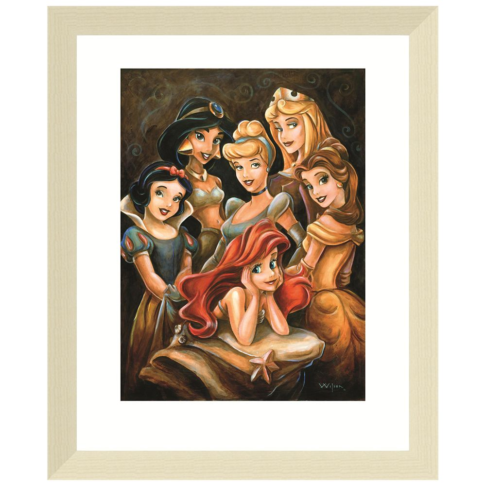 Disney ''Princess Gathering'' Giclée by Darren Wilson