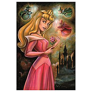 ''Sleeping Beauty'' Giclée by Darren Wilson