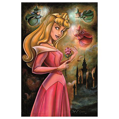 ''Sleeping Beauty'' Giclée by Darren Wilson