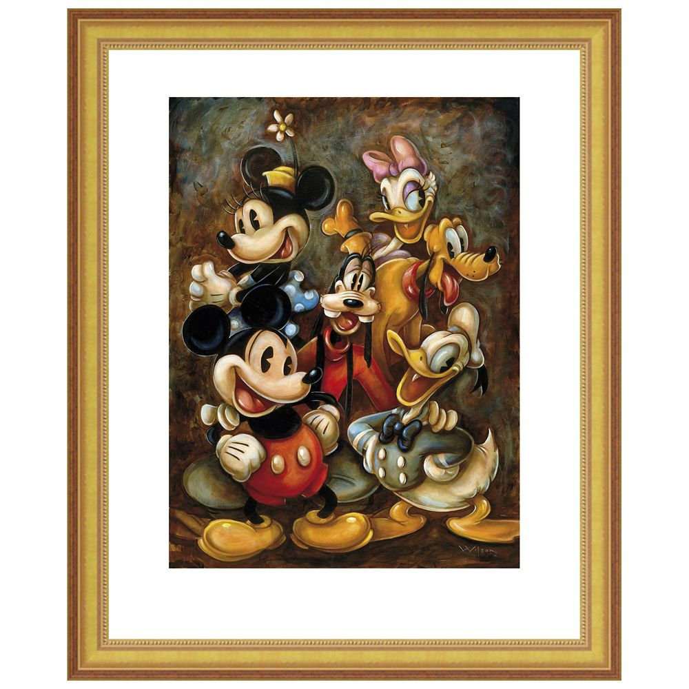 ''Mickey Mouse and Friends'' Giclée by Darren Wilson